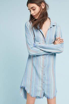 Cloth & Stone Raw-Hem Shirtdress
