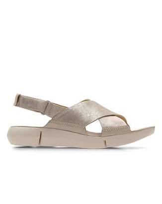 0ea4f1d4422 Clarks Nude Sandal - ShopStyle UK