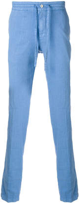 Loro Piana drawstring mid-rise trousers