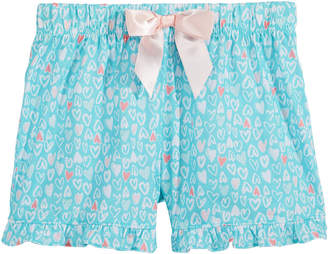 LTB Max & Olivia Graphic-Print Pajama Shorts, Little & Big Girls
