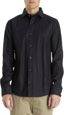 Jack Spade Andre Denim Long Sleeve Shirt