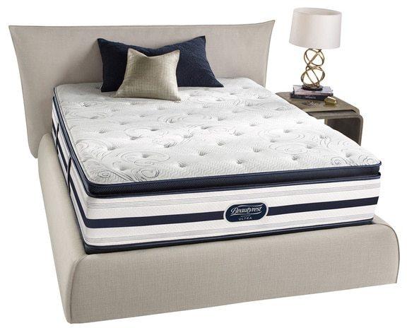 Simmons Beautyrest Beautyrest Recharge Lilah Luxury Firm Pillow Top Cal King-size Mattress Set