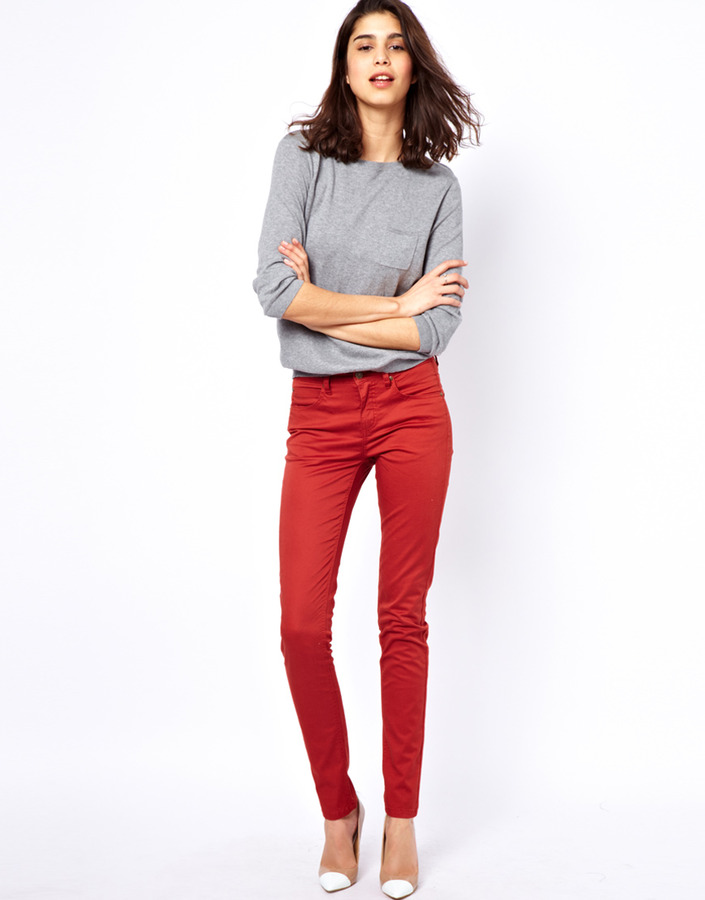 Selected Annie Twill Pants