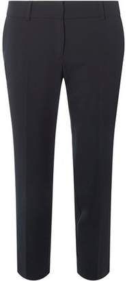 Dorothy Perkins Womens Petite Navy Naples Ankle Grazer Trousers