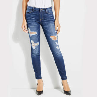 GUESS (ゲス) - ゲス GUESS SEXY CURVE DESTROYED SKINNY DENIM PANT