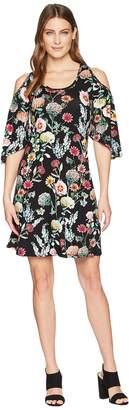 Karen Kane Cold Shoulder Dress Women's Dress