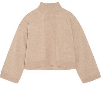 ATM Anthony Thomas Melillo Wool And Cashmere-blend Turtleneck Sweater - Beige