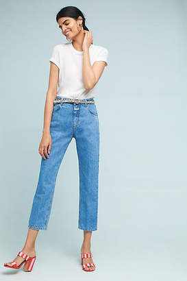 Closed Heartbreaker High-Rise Cropped Straight Jeans