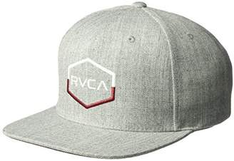 RVCA Men's Commonwlth Snapback Hat