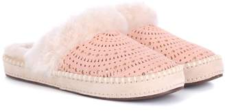 UGG Aira Sunshine suede slippers