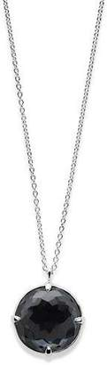 """Ippolita Rock Candy Silver Pendant Necklace in Hematite Doublet, 31"""""""