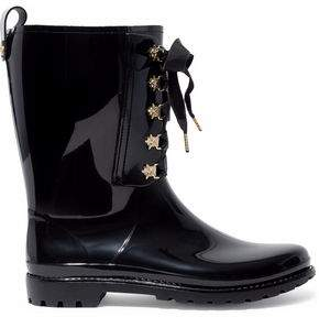 RED Valentino Studded Rubber Rain Boots