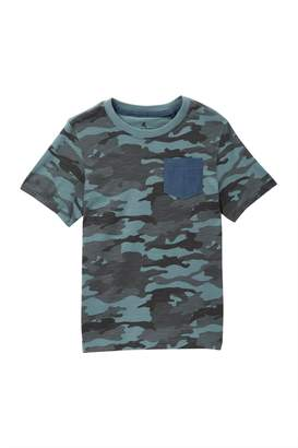 Tailor Vintage Short Sleeve Chambray Pocket Tee (Toddler Boys)