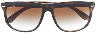 Ray-Ban tortoiseshell frame sunglasses