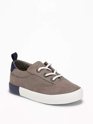 Old Navy Faux-Suede Lace-Up Sneakers for Toddler Boys