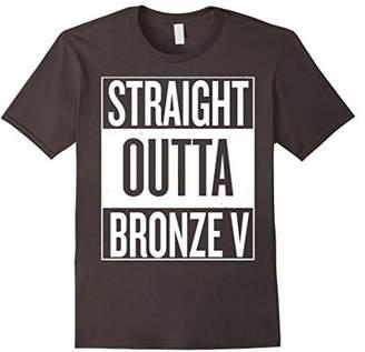 Straight Outta Bronze V T-Shirt