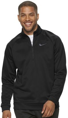 Men's Nike Therma-FIT Training Quarter-Zip Top $55 thestylecure.com