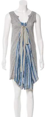 Sacai Sleeveless Mini Dress