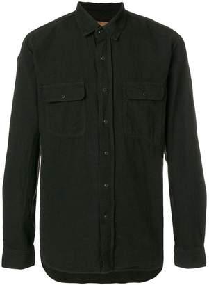 Kris Van Assche double-pocket shirt