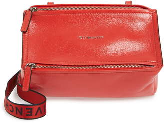 Givenchy Mini Pandora Glazed Leather Shoulder Bag
