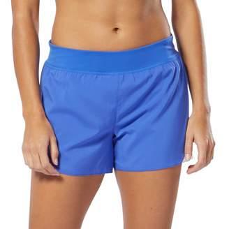 Reebok Women's Workout Ready Knit & Woven Midrise Shorts