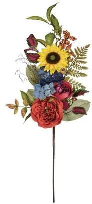 Charlton Home Sunflowers Mixed Spray Floral Arrangement