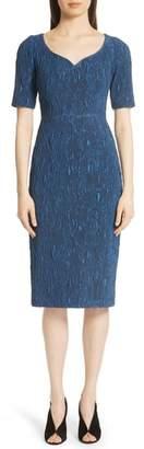 Jason Wu Stretch Cloque Jacquard Dress