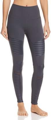 Alo Yoga High-Waist Moto Leggings