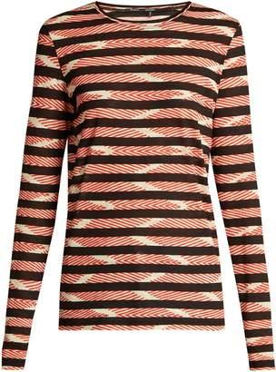 Proenza Schouler Striped long-sleeved cotton T-shirt