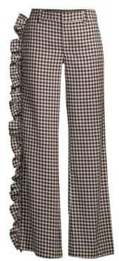Maggie Marilyn Nothing Standing In My Way Gingham Ruffle Pants