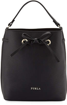 Furla Costanza Small Leather Bucket Bag