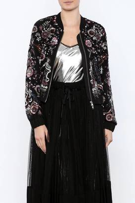 Needle & Thread Cinder Bomber $458 thestylecure.com