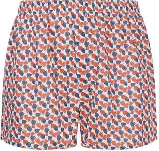 Sunspel Petal Print Boxer Shorts