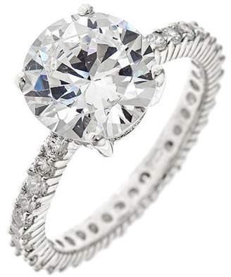 Sterling Forever Brilliant Cut Sparkling CZ Ring