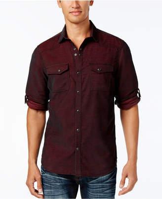 INC International Concepts I.n.c. Men's Calban Corduroy Shirt