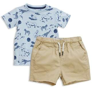 Sovereign Code Boys' Safari Ride Tee & Chino Shorts Set - Baby