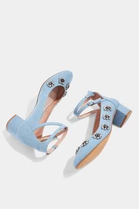 Topshop JAIDA Gem Embellished Sandals