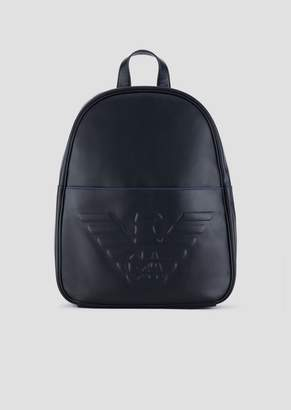 Emporio Armani Backpack With Maxi Logo