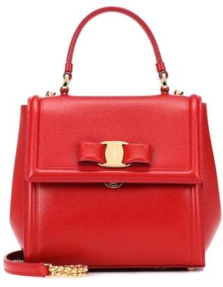 Salvatore Ferragamo Carrie Mini leather shoulder bag