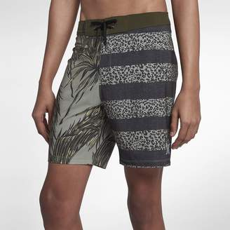 "Nike Men's 18"" Board Shorts Hurley Phantom Floral"