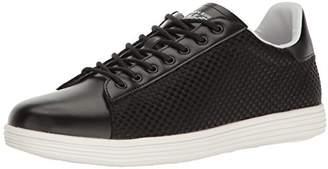 Armani Jeans Men's Basket Weave Fashion Sneaker