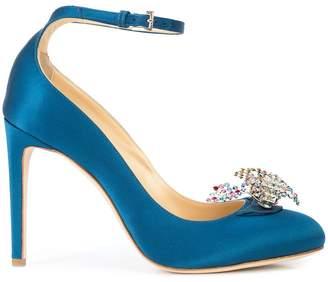 Chloé Gosselin Helix embellished pumps