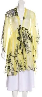 Maria Lucia Hohan Silk Printed Kimono w/ Tags