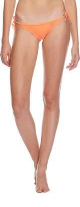 Body Glove Women's Smoothies Brasilia Solid Tie Side Cheeky Bikini Bottom Swimsuit, Abyss
