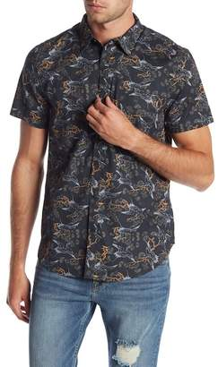 Lucky Brand South Pacific Slim Fit Print Woven Shirt