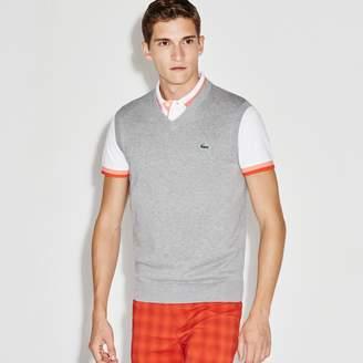 Lacoste Men's SPORT V-Neck Jersey Sweater