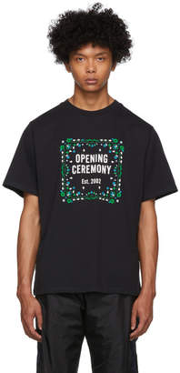 Opening Ceremony Black Bandana Box Logo T-Shirt