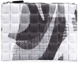NO KA 'OI No Ka' Oi printed quilted pouch