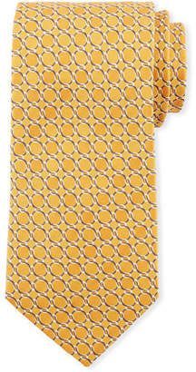 Eton Chain-Link Silk Tie