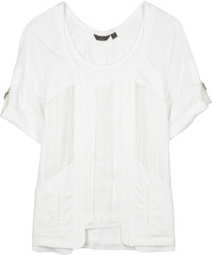 Mulberry Broderie Anglaise T-shirt
